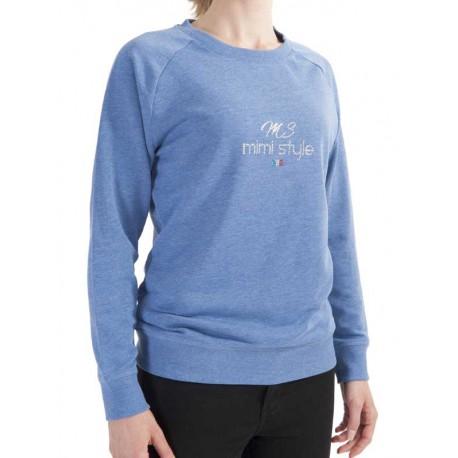 Sweat Mimi Style Bleu